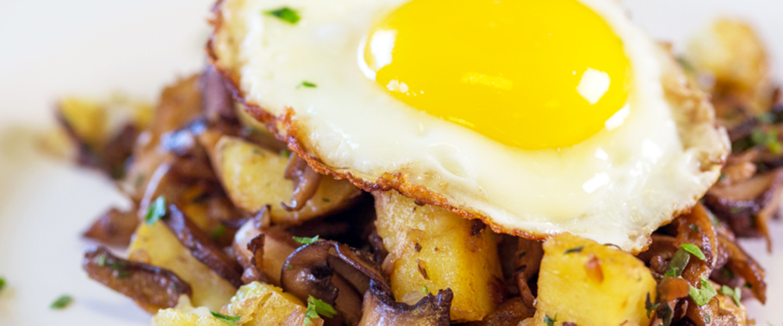 RECIPE | Wild Mushroom Hash & Eggs