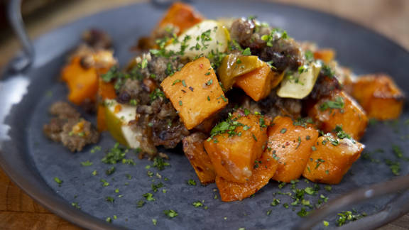 RECIPE | Sweet Potato Country Sausage Casserole