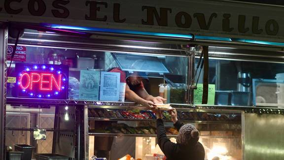 Best Seat In The House: Tacos El Novillo, Oakland