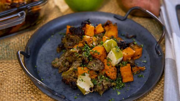 RECIPE | Sweet Potato Country Sausage Casserole